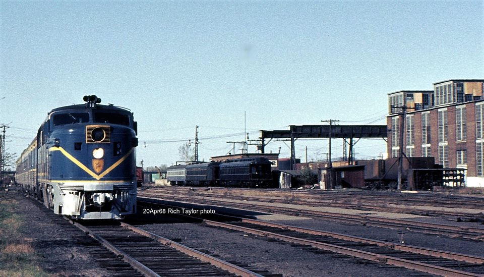 Delaware and Hudson ALCO PA1 18 at Colonie, NY - ARHS Digital Archive