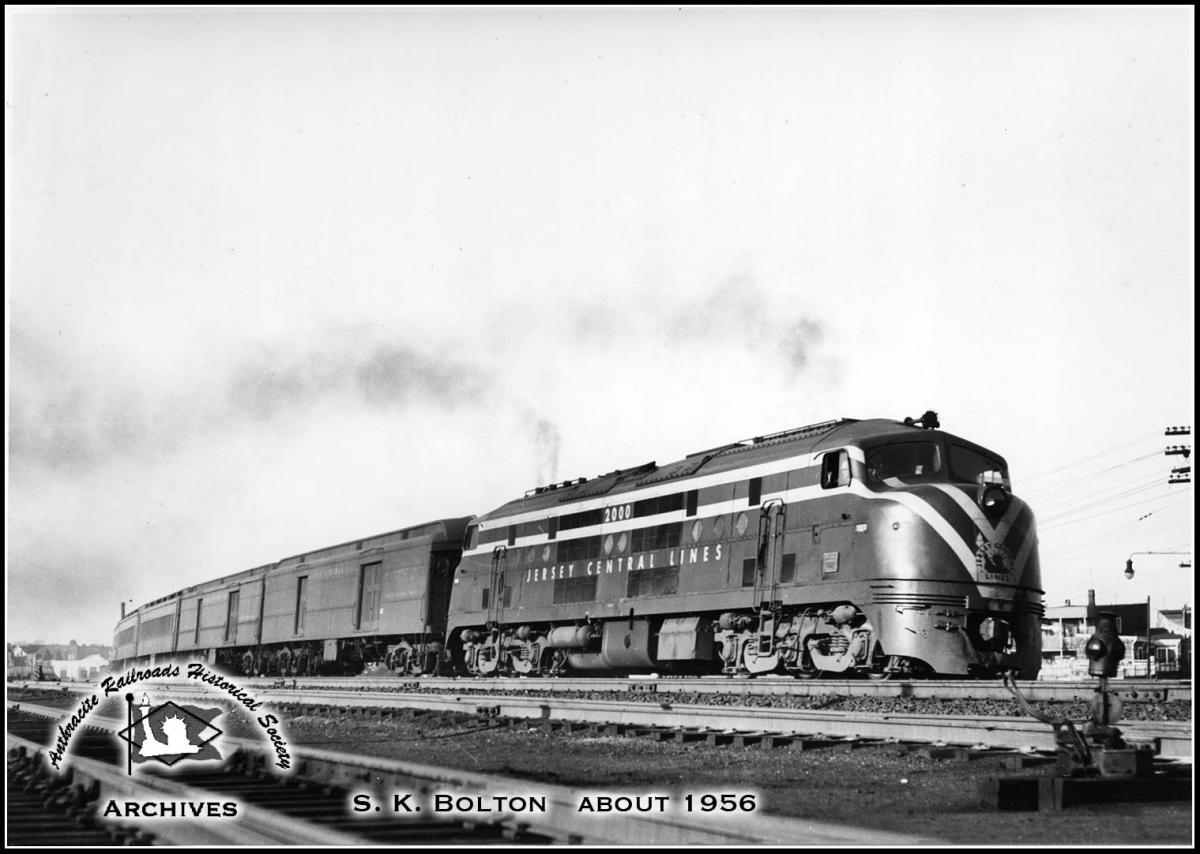 Central Railroad of New Jersey BLW DRX 6-4-20 2000 at Unknown, US - ARHS Digital Archive