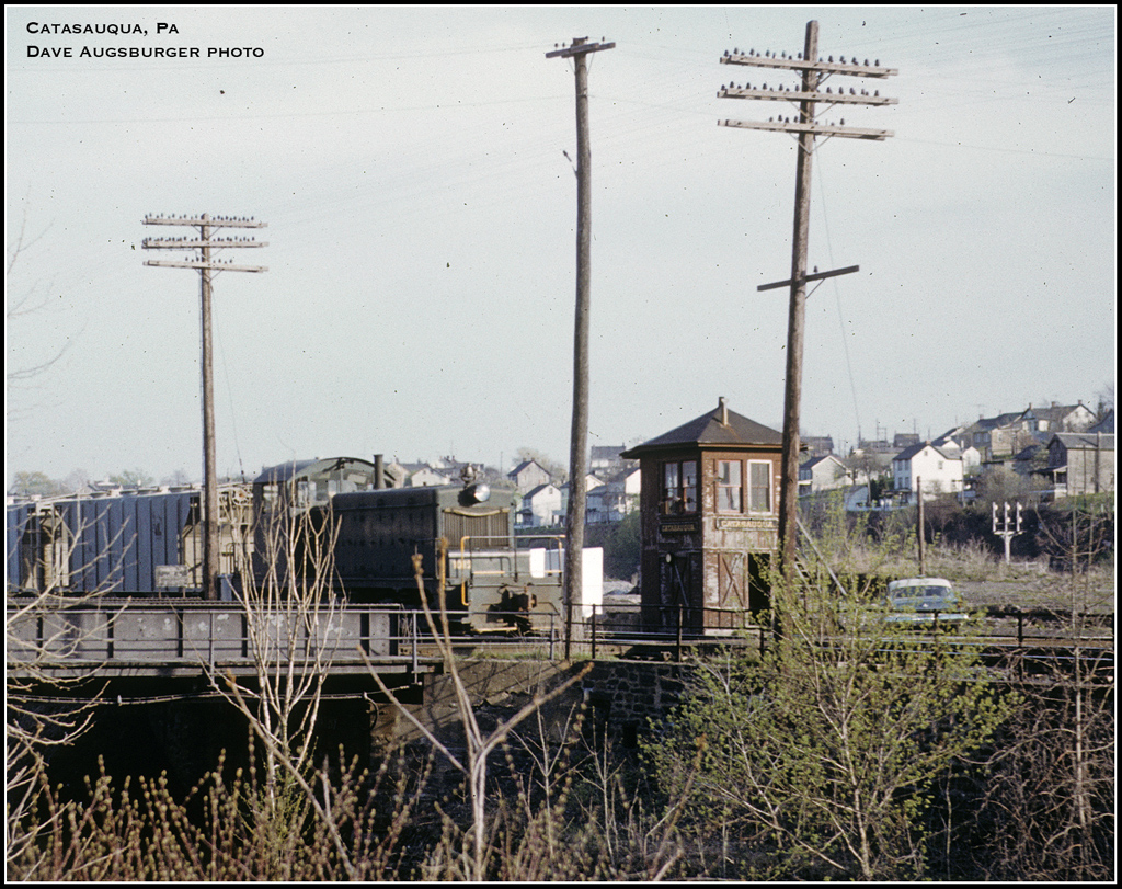 Central Railroad of New Jersey Tower  at Catasauqua, PA - ARHS Digital Archive