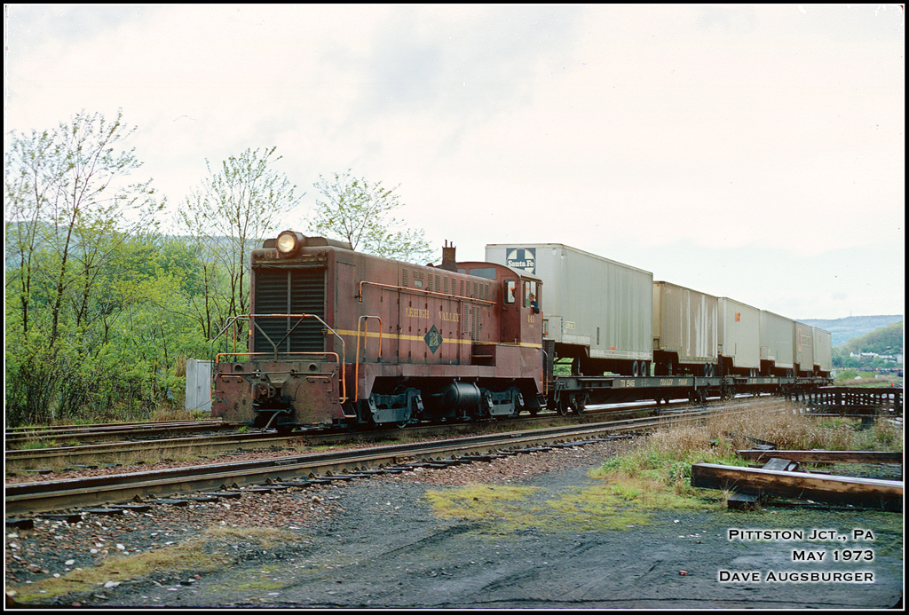 Lehigh Valley BLW DS 4-4-1000 141 at Pittston, PA - ARHS Digital Archive