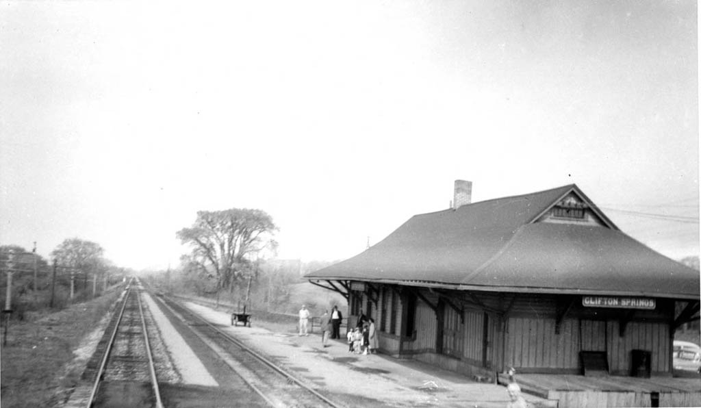 Lehigh Valley Station  at Clifton Springs, NY - ARHS Digital Archive